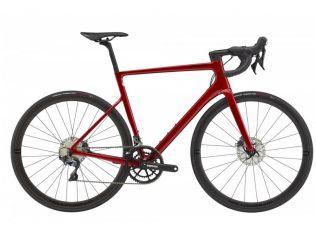 Bicicleta Cannondale SuperSix EVO HI-MOD Disc Ultegra Candy Red 2021