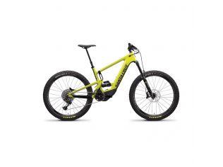 Bicicleta electrica Santa Cruz Heckler Carbon CC S-kit yellow