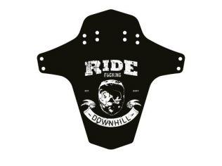 Aparatoare Reverse Ride Fucking Downhill Black/White
