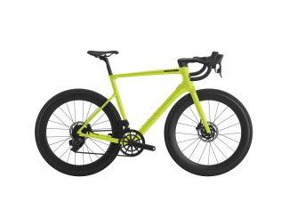 Bicicleta Cannondale SuperSix EVO Carbon Disc 105 2021 Bio Lime