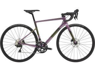 Bicicleta dama Cannondale SuperSix EVO Carbon Disc 105 2021 Lavender