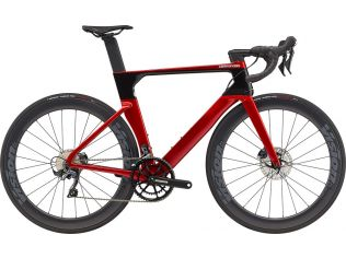 Bicicleta Cannondale SystemSix Carbon Ultegra 2021 Candy Red
