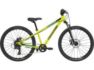 Bicicleta copii Cannondale Trail 24 2021 neon yellow