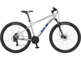 Bicicleta MTB GT Aggressor Expert Slate Gray 2021 White