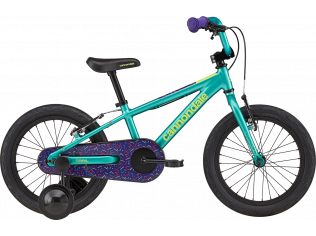 Bicicleta copii Cannondale Trail Freewheel 16 2021 turquoise