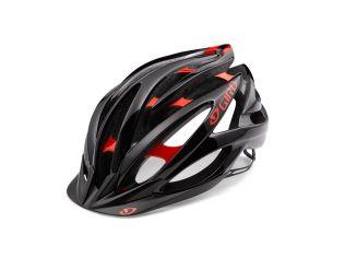 Casca Giro Fathom Bright Red Black