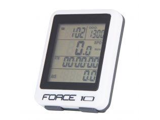 Ciclocomputer Force 10F Cu Fir White