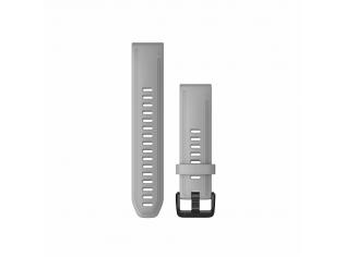 Curea Garmin Quickfit 20 Silicon Powder Gray