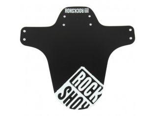Fender RockShox MTB Black White Distressed Logo Print