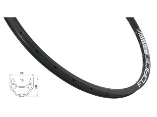 Janta Force Basic Disc 559X18 36H Black