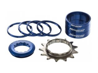 Kit Single Speed Reverse 13T Blue