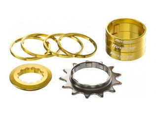 Kit Single Speed Reverse 13T Gold