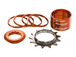 Kit Single Speed Reverse 13T Orange