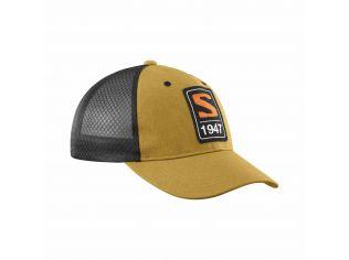 Sapca Unisex Salomon CAP TRUCKER CURVED CAP Mustar