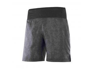 Pantaloni Scurti Alergare Barbati Salomon Xa 7'' Short M Gri