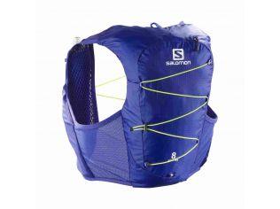 Rucsac Alergare Unisex Salomon ACTIVE SKIN 8 SET Mov cu sistem de hidratare