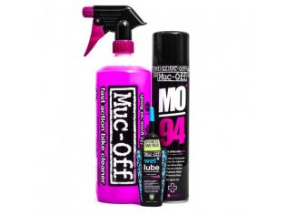 Muc-Off Wash Protect and Lube Kit (Wet Lube Version)