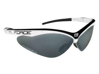 Ochelari Force Air White/Black Lentila Black Laser