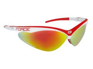 Ochelari Force Air White/Red Lentila Red Laser