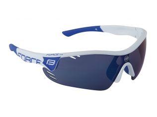 Ochelari Force Race Pro Whitei Lentila Blue Laser