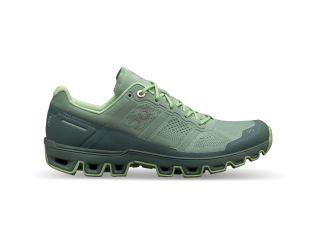 Pantofi alergare dama On Cloudventure Moss Olive