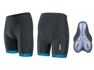 Pantaloni Force B20 Cu Insertie Gel Black/Blue