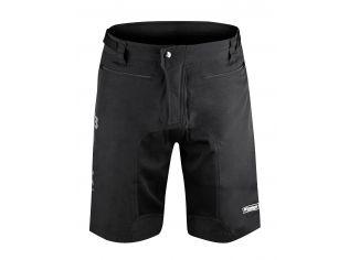 Pantaloni Force Mtb-11 Cu Sub-Pantaloni Cu Bazon Black