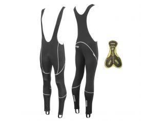 Pantaloni Force Z70 Cu Bretele Si Bazon Black