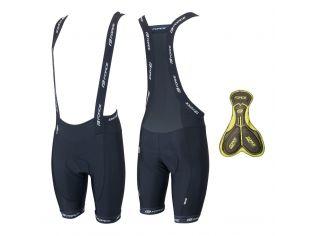 Pantaloni Scurti Cu Bazon Si Bretele Force B45 Black