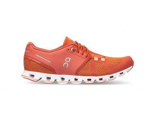 Pantofi alergare dama On Cloud Chili Rust