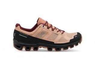 Pantofi alergare dama On Cloudventure Waterproof rosebrown mulberry