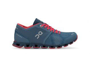 Pantofi alergare On Cloud X dama lake coral
