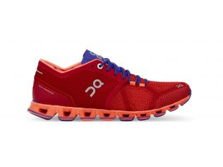 Pantofi alergare On Cloud X dama rosu