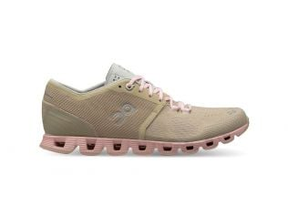 Pantofi alergare dama On Cloud X Sand Rose