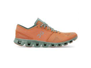 Pantofi alergare On Cloud X Orange Sea