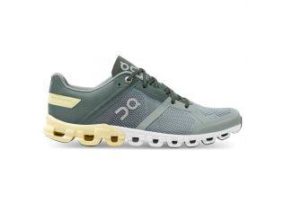 Pantofi alergare dama On Cloudflow Sea Limelight