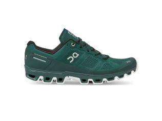 Pantofi alergare On Cloudventure Evergreen White