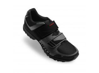Pantofi ciclism Giro Berm dark shadow black