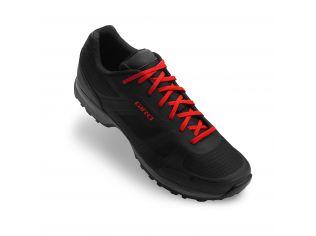 Pantofi ciclism Giro Gauge black bright red