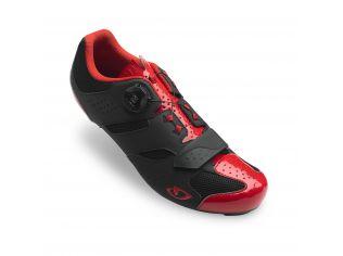 Pantofi ciclism Giro Savix bright red black