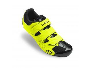 Pantofi ciclism Giro Techne highlight yellow