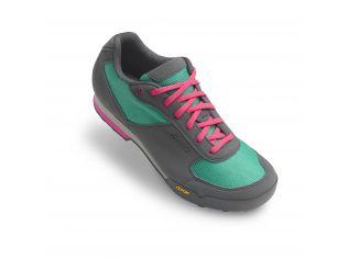 Pantofi ciclism dama Giro Petra VR turquois bright pink