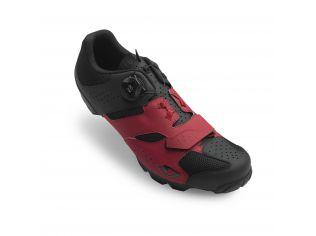 Pantofi ciclism Giro Cylinder dark red black