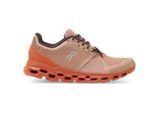 Pantofi alergare dama On Cloudstratus rosebrown flare