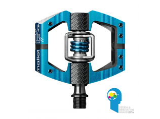 Pedale Crankbrothers Mallet Enduro Electric Blue