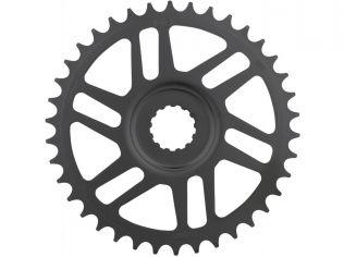Placa pedalier KMC 38T Direct Mount Bosch 3mm Offset Neagra