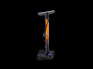 Pompa podea BBB  BFP-2118 AirBoost cu manometru portocalie
