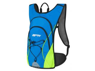 Rucsac Force Berry Ace 12 L Blue-Green Fluo