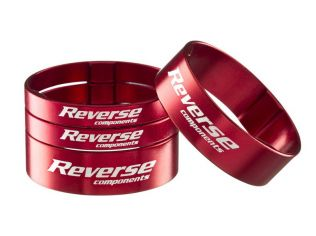 Set Distantiere Reverse 1.1/8 Silver Red