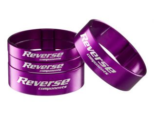Set Distantiere Reverse Ultra-Light 1.1/8 Silver Purple